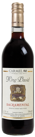Carmel King David Sacramental Kosher